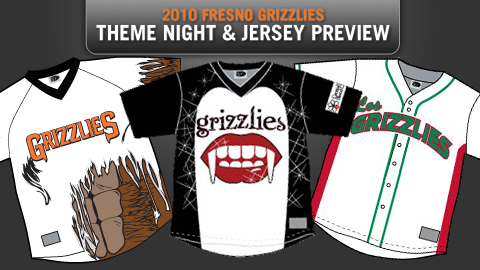 The Grizzlies offer fans a chance to choose their theme jerseys in 2010.