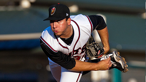 Modesto's Chad Bettis ranks second in the Cal League with 12 wins.