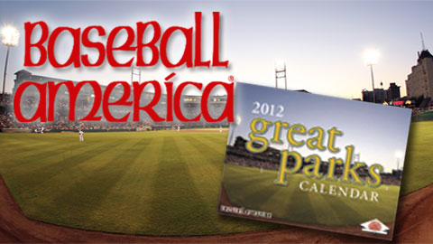 Chukchansi Park will be featured on the cover of Baseball America's 2012 Calendar.