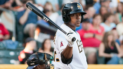 Cory Aldridge has 11 home runs and 32 RBIs for the Bees this season.