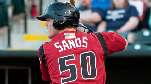 Jerry Sands ranks fourth in the Pacific Coast League with 72 RBIs.
